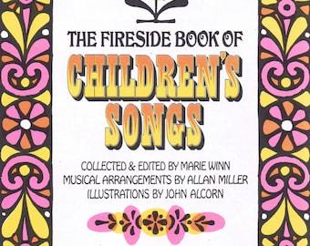 Vintage Children's Music Book, Vintage Illustration, Scrapbooking Supplies