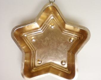 Star Shape Pan, Vintage Food Molds, Kitchen Decorations