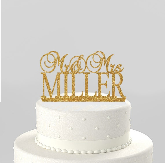 personalised name wedding cake toppers uk items similar to wedding cake topper mr amp mrs personalized 18220