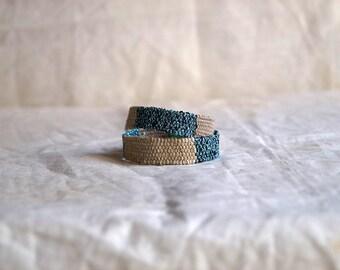 Hand woven bracelet/necklace