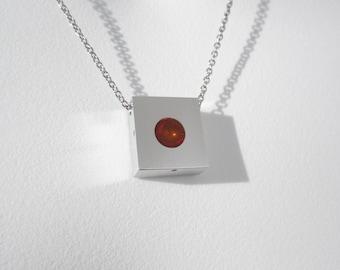 Minimalist Pendant Necklace – Minimalist Jewelry – Contemporary Jewelry Design