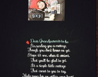 Pregnancy/Birth announcement frame