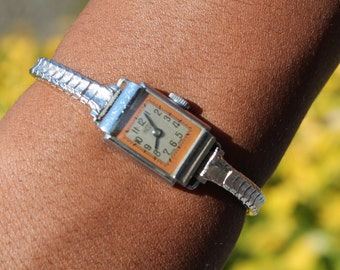1960's Vintage Women's Stainless Steel Watch