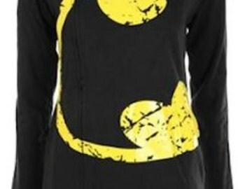 Batman side zip hoodie