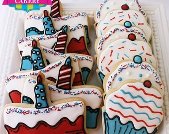 Birthday Cookies (1 Dozen)