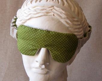 Mask of lavender - model green flowers. Mask of lavender flowers - Green model