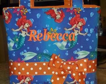 Little Mermaid Personalized Purse