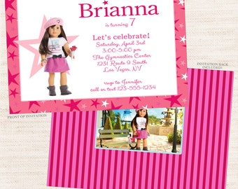 Grace Party Invitation | Grace Birthday Printable Invitation | Girl Birthday | Gracie Lee Design