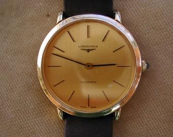 c.1976 LONGINES AUTOMATIC Gentleman's Watch, Serviced.