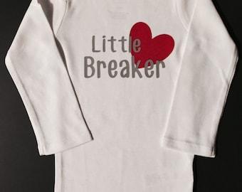 Little Heart Breakear Onsie or T-shirt