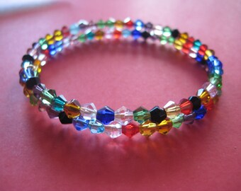 Colors crystal bracelet