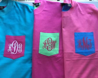 Monogrammed Surfboard Crew - Cute and Trendy!