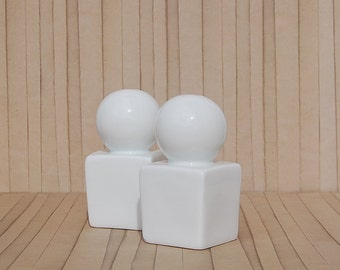 Art Deco Salt and Pepper Shakers Porcelain