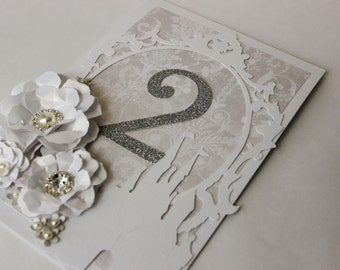 Fairytale wedding, silver table numbers, table decor princess wedding, castle wedding, table cards, place cards wedding stationery