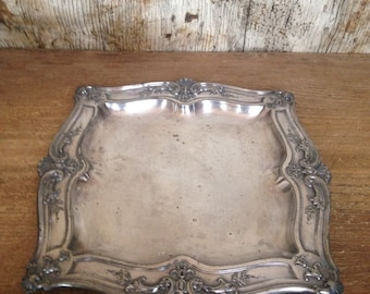 French ornate tray
