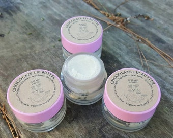 chocolate lip butter, organic lip gloss, vegan lip butter, lip balm