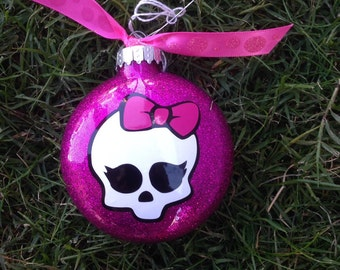 Monster High Inspired Christmas Ornament
