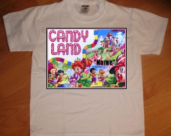 CandyLand Personalized T-Shirt