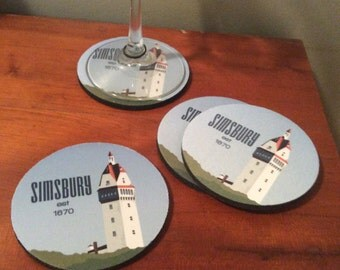 Coaster Set - Simsbury, CT