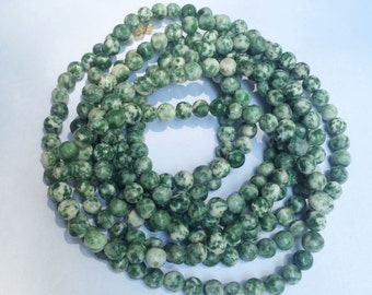 Army Green Double Wrap Necklace