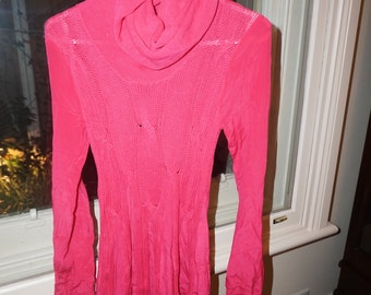 Alice McCall Hot Pink Knit Dress
