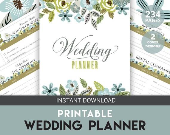 Wedding Planner Gift To Bride : Wedding Gift, Floral Wedding Planner