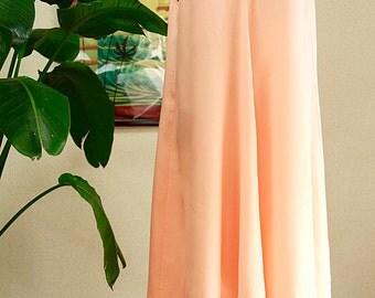 Hawaiian fabric ,Coral pink , No sleeve dress ,HNLS-SALE-4