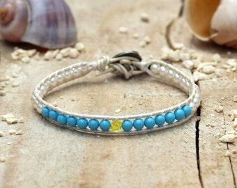 Swarovski Wrap bracelets, Swarovski Beaded Bracelet, Wrap Bracelets, Beaded bracelets, Handmade Jewelry, Womens Bracelets, Boho Jewelry