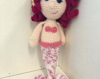 Mermaid Amigurumi Crochet Toy