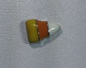 HALLOWEEN candy corn floating charm