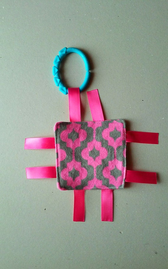 Baby Crinkle Tag Toy , Sensory Toy