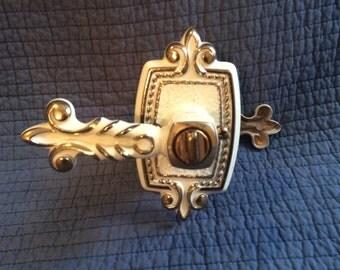 Vintage Victorian Door Handle/French Door Handle/Hollywood Regency Door Handle