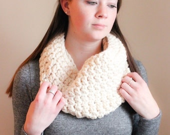 Chunky Crochet Cowl - Fisherman - The Wilson Cowl