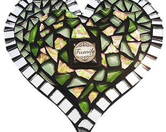 Mosaic  Heart - Earth