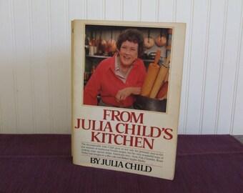 From Julia Child's Kitchen, Vintage Cookbook, 1982