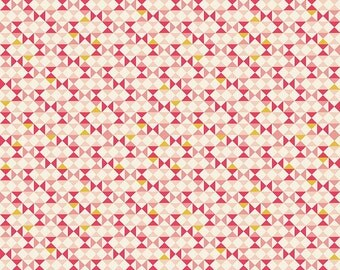 1 Yard Vintage Daydream by Design by Dani for Riley Blake Design- 5564  Pink Vintage Geometric
