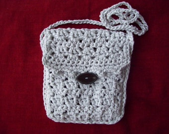 Bag pouch gray hook
