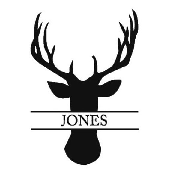 Black Ink Geometric Bear Head Tattoo On Man Chest also 32823384761 further 1804146 32721985535 additionally Moose Black Cliparts moreover Deer Name Decal Hunter Name Decal Antler. on deer antler silhouette