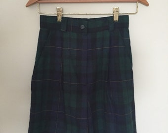 Vintage Plaid Shorts Size 5