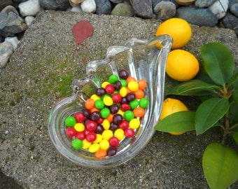 Heavy Crystal Shell Candy Dish