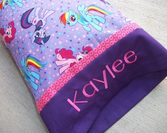Personalized Toddler/Travel Size Pillow My Little Pony