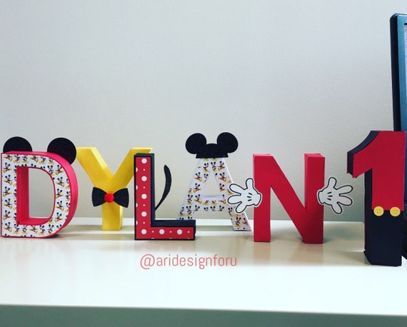 3d name 3d letters 3d stand up letters birthday name