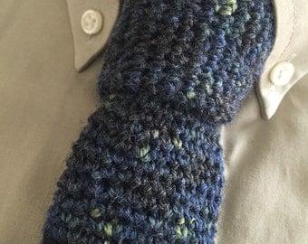 CROCHET NECKTIE PATTERN - Necktie, Neck Tie Pattern, Beginner Crochet Pattern, diy Pattern, Retro Necktie, Instant Download, diy Crochet