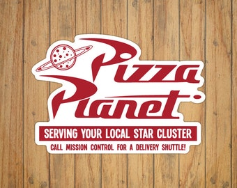 Pizza Planet (Toy Story) Decal/Sticker