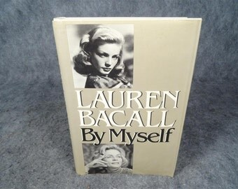 Lauren Bacall By Myself 1978 Hardcover