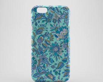Abstract Floral Phone case,  iPhone X Case, iPhone 8 case,  iPhone 6s,  iPhone 7 Plus, IPhone SE, Galaxy S8 case, Phone cover, SS133b4