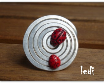 SPECIAL OFFER Ladybugs ring