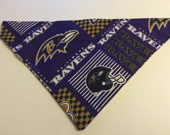 Dog bandana, NFL Baltimore Ravens