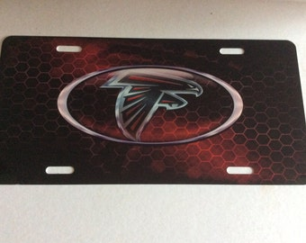 Atlanta Sublimation License Plate Tag