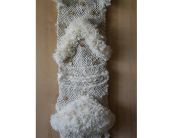 Wall weaving wool